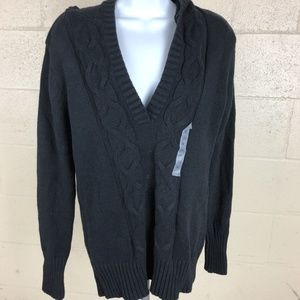 Old Navy Women's Hoodie Size M Black NWT